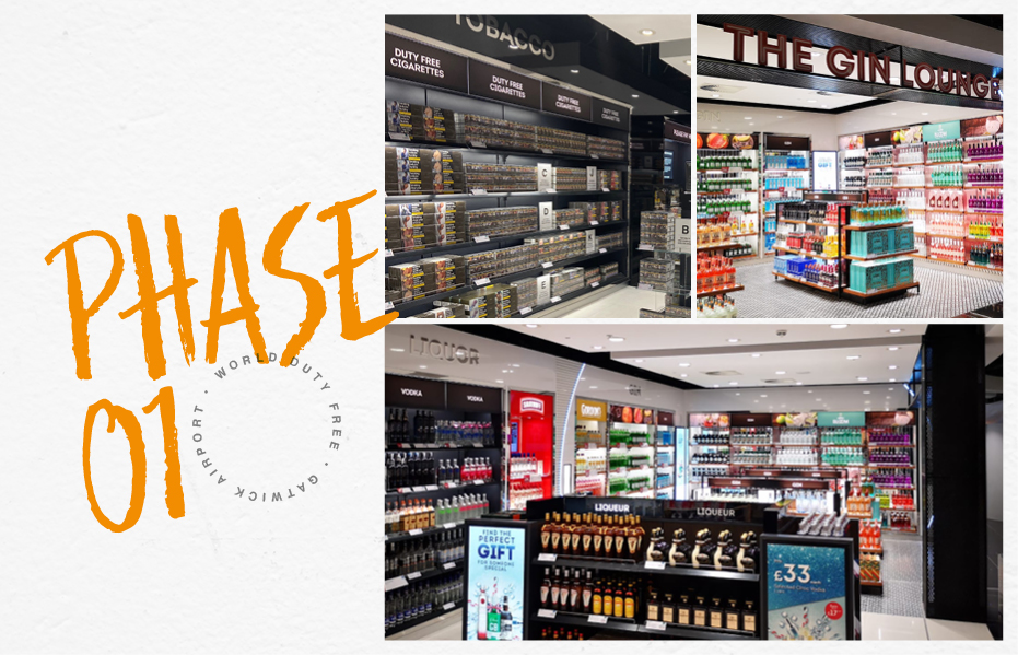 Elite successfully complete phase 1 at World Duty Free, Gatwick south terminal-0