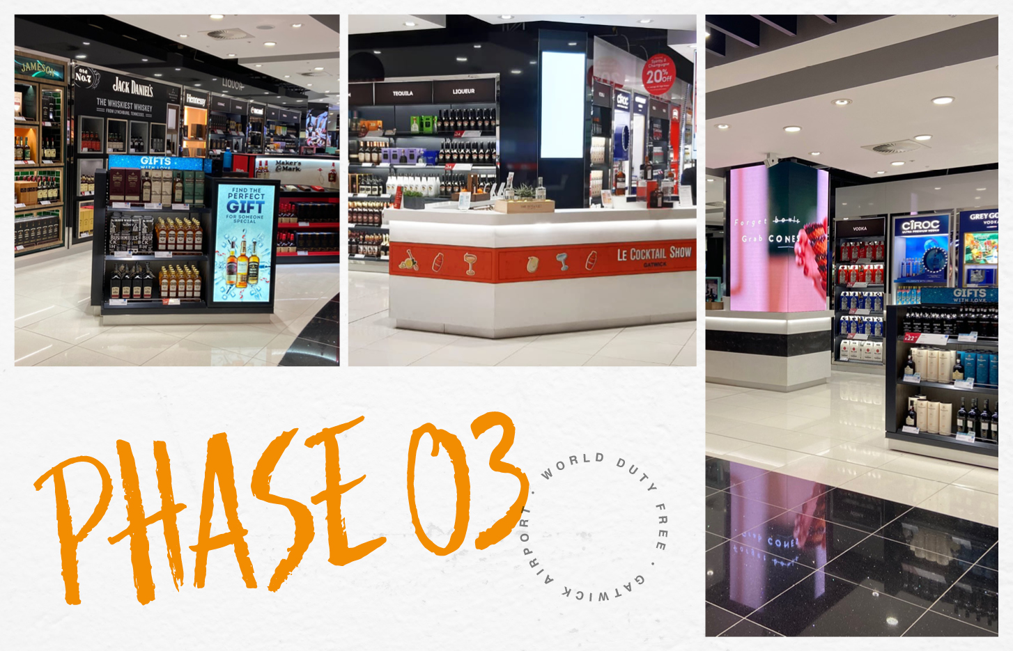Phase 3 successfully completed at World Duty Free, Gatwick airport-0